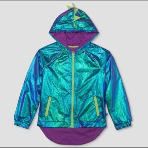 🔥4/$25 Jurassic World- Iridescent Hooded Jacket